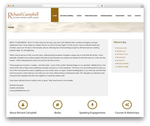 Nuzi best WordPress template by ThemeWaves - page 3