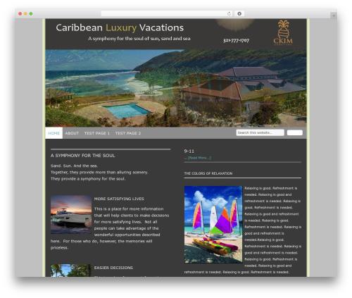 WordPress template Genesis - goodhealthbible.com