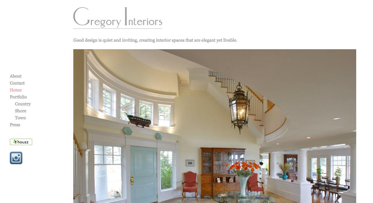 WordPress theme gregory-interiors-2016