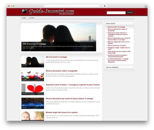 Arras Theme WordPress theme - guida-incontri.com