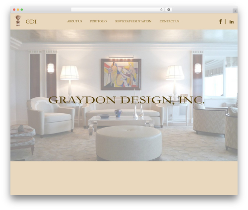 Responsive best WordPress theme - graydondesign.com