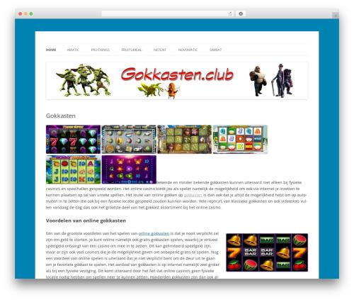 Twenty Twelve template WordPress free - gokkasten.club