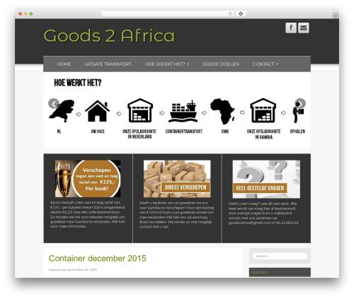 WordPress template Fresh Lite - goods2africa.nl