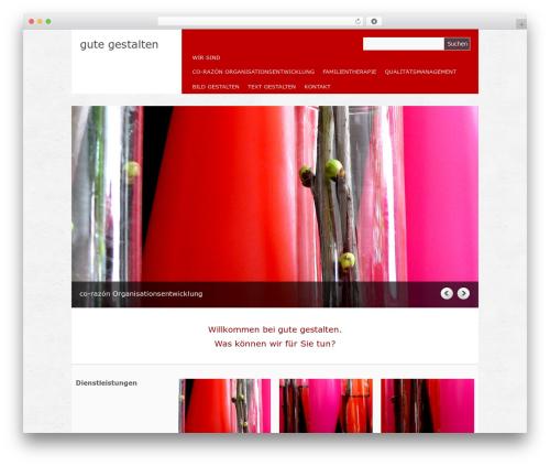 Yasmin theme WordPress - gutegestalten.de