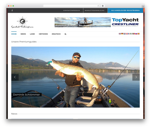 Avada WP template - guided-fishing.com