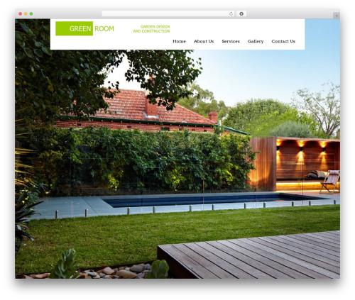 Black Label best WordPress template - greenroomgardendesign.com.au