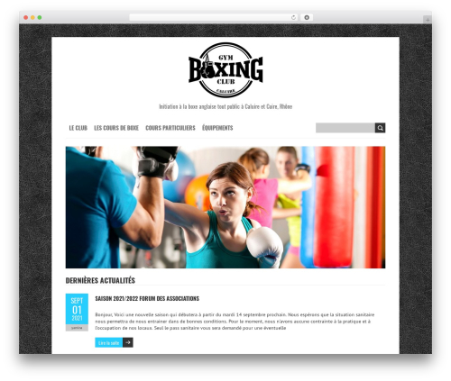 Free WordPress WP Simple Galleries plugin - gymboxingclub.fr