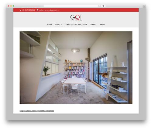 Divi WordPress theme design - gqi.associates