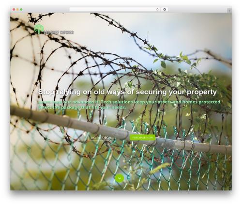FirstOne OnePage WordPress Theme template WordPress - gpsthiefcatcher.com