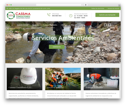 HnK WordPress theme - cassmaconsultores.com