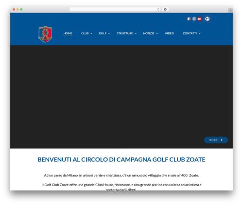 N7 Golf Club WP theme - golfzoate.it