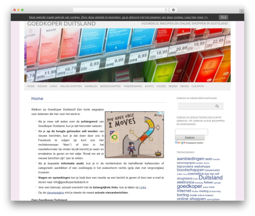picolight template WordPress - goedkoperduitsland.nl
