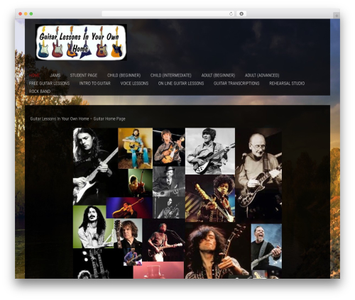WordPress template SKT Photo World Pro - guitar-lessons-at-home.com