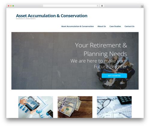 WordPress theme Ascension - assetaccum.com