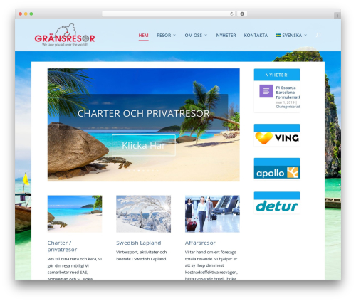 WordPress theme Extra - gransresor.se