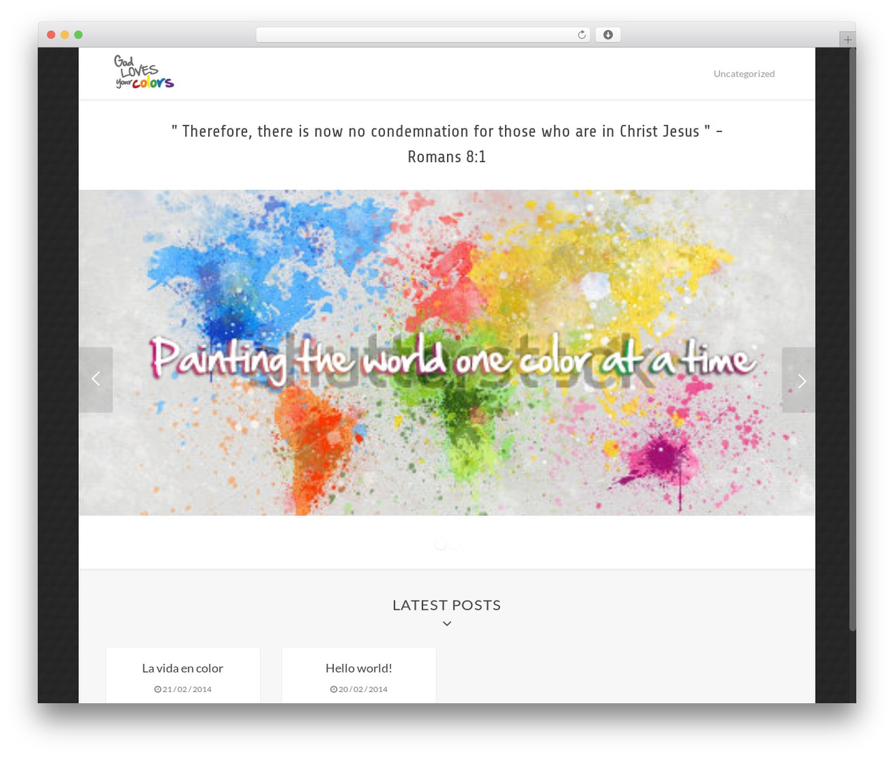 WP template Asher - godlovesyourcolors.com