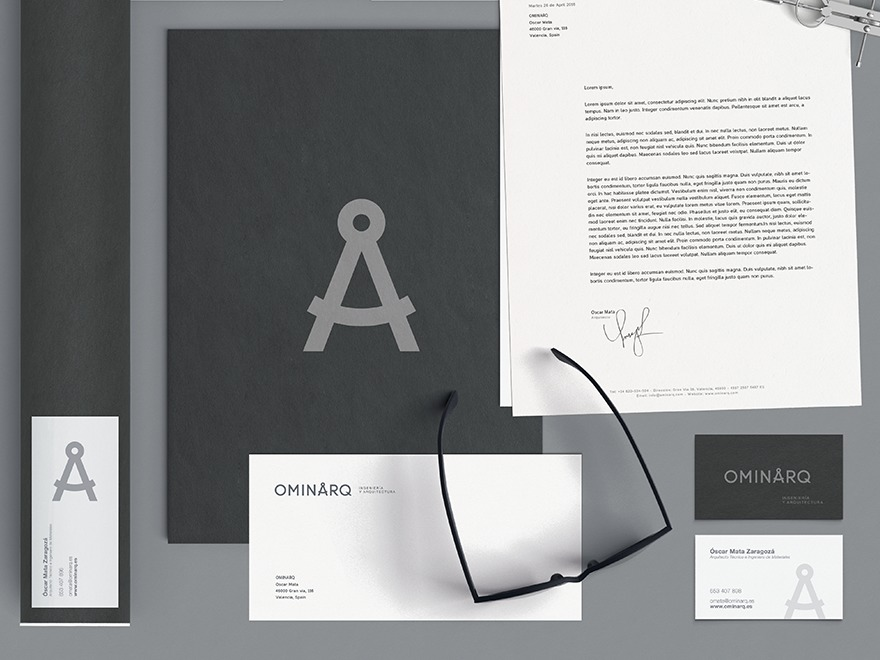 OMINARQ WordPress theme design