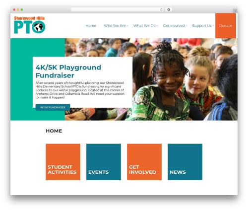 WordPress theme Play School - shorewood-pto.org