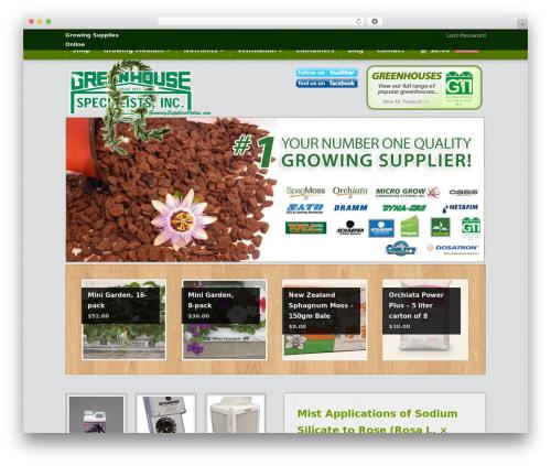 Emporium WP theme - growingsuppliesonline.com