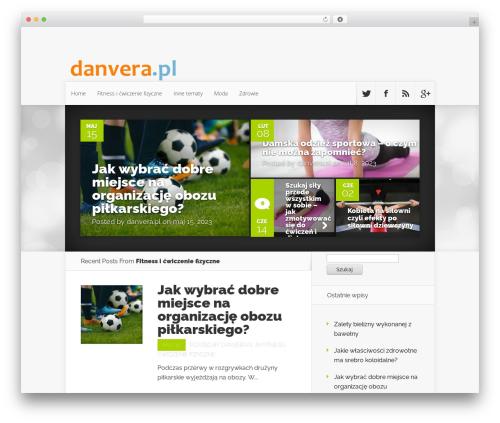 Theme WordPress Nexus - danvera.pl