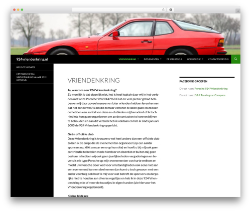 Twenty Fourteen template WordPress free - 924vriendenkring.nl