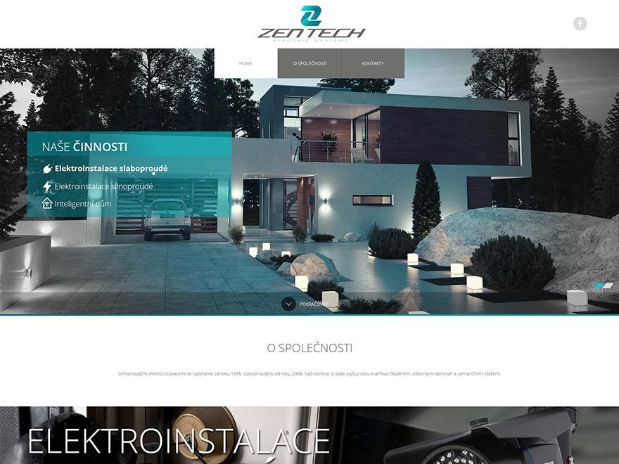 Zentech WordPress template