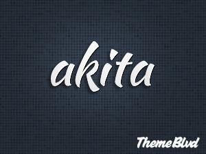 Akita company WordPress theme