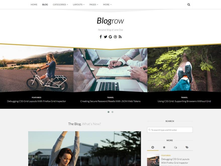 Blogrow best WordPress gallery