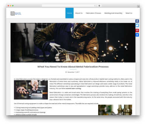 Business Club WordPress template free - thingsthatmightannoy.com