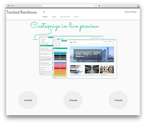 Customizr WordPress theme free download - twistedrainbows.com