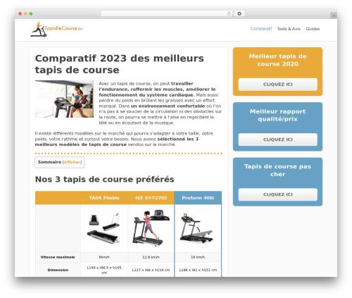 FocusBlog WordPress blog template - tapisdecourse.biz