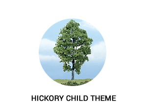 Hickory Child WP template