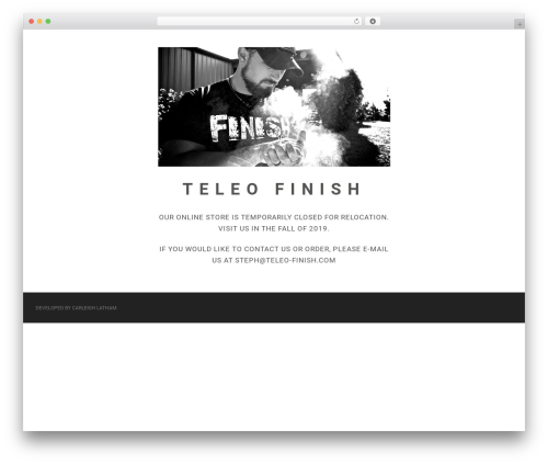 Matty theme WordPress - teleo-finish.com
