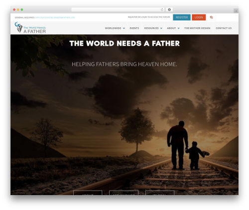 QUANTUM - Business WordPress Theme WordPress template for business - theworldneedsafather.com