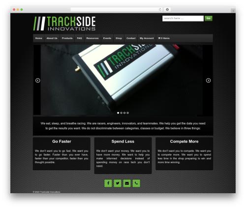 Responsive WordPress theme free download - tracksideinnovations.com