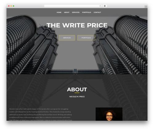 ResponsiveBoat top WordPress theme - thewriteprice.com