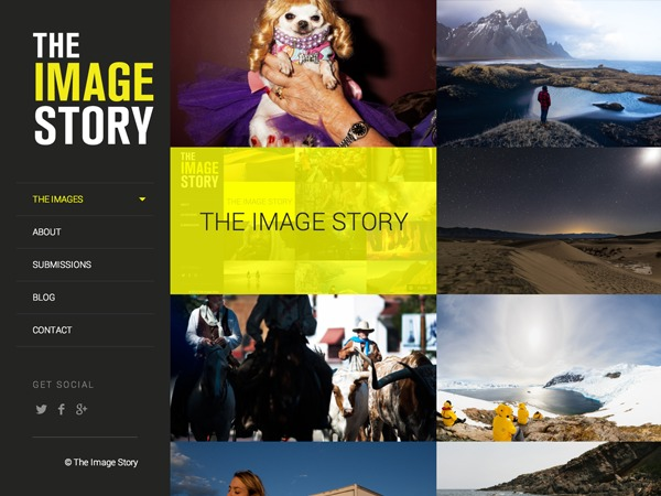 TheImageStory WordPress gallery theme