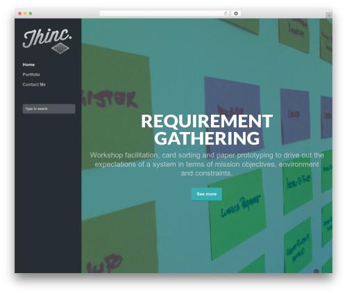 Trail WordPress template - thincdesign.net