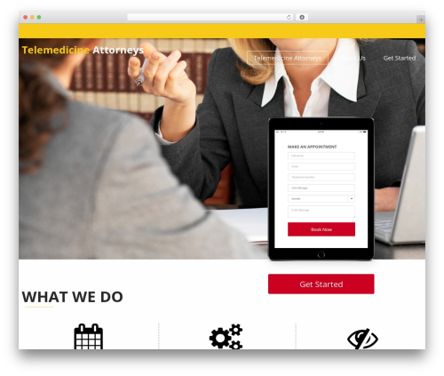 WP theme InstaAppointment Lite - telemedicineattorneys.com