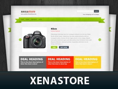 Xenastore WordPress ecommerce theme