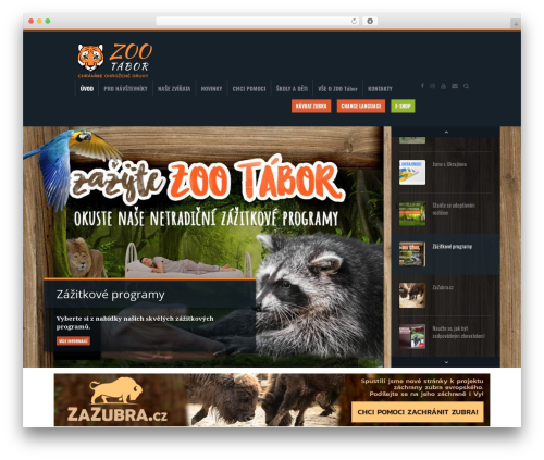 Biosphere premium WordPress theme - zootabor.eu