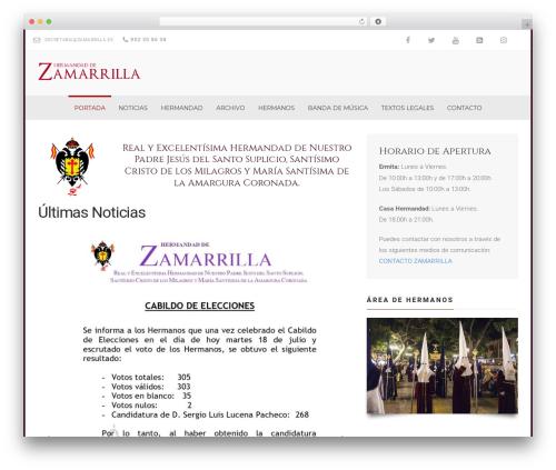 Church Suite template WordPress - zamarrilla.es