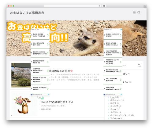 Godios. WordPress theme - something-betterer.com