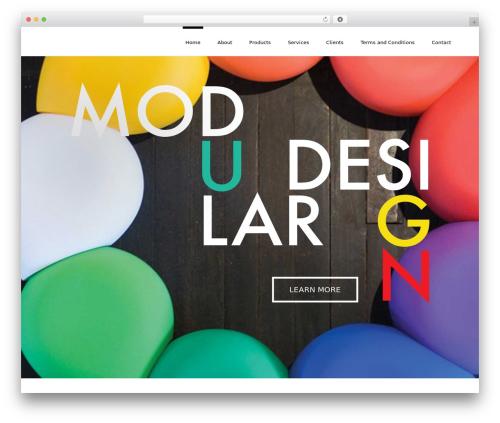 Theme WordPress Stardust - 2design.com.au