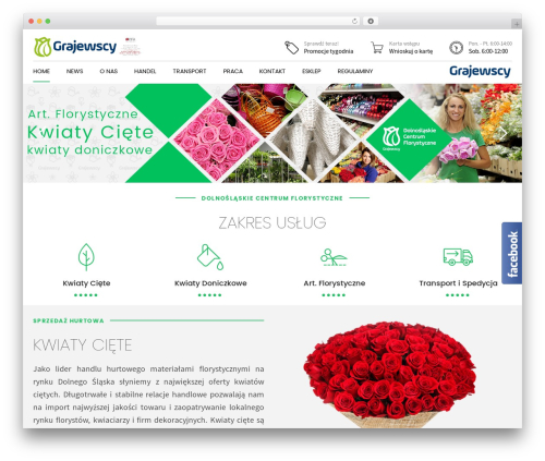 Best WordPress template Shopscape - grajewscy.pl