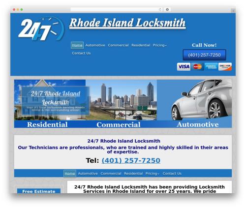 Jolene theme WordPress - 247rhodeislandlocksmith.com