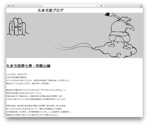Saka theme WordPress free - archivemusichouse.com