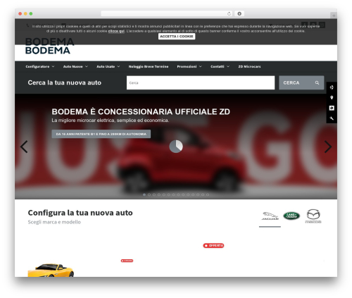 WebSparK Boilerplate Theme top WordPress theme - bodemaauto.it