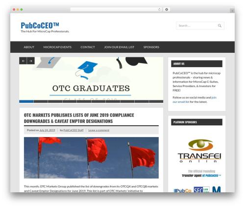 Dynamic News newspaper WordPress theme - pubcoceo.com