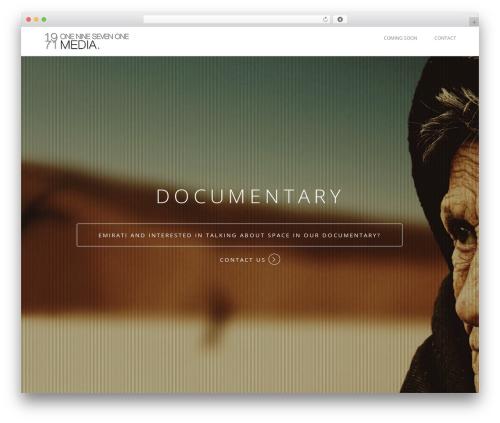 WordPress gallery-video plugin - 1971-productions.com